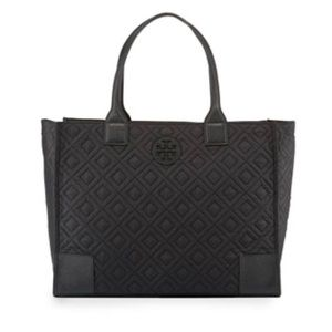 🆕 Tory Burch Ella Quilted Nylon Tote Bag